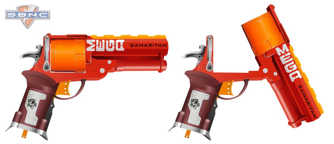 Nerf N-Strike Modulus ECS-10 Blaster NERF GUN Kids Toy Dart Game Target  Scope