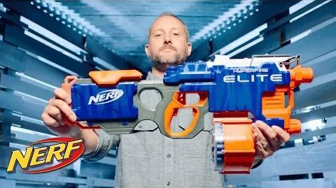 NERF - 'Elite Hyperfire' Behind the Blaster