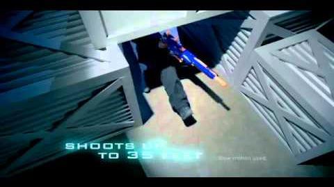 Nerf 2010 Commercial N Strike Longstrike CS 6 Blaster