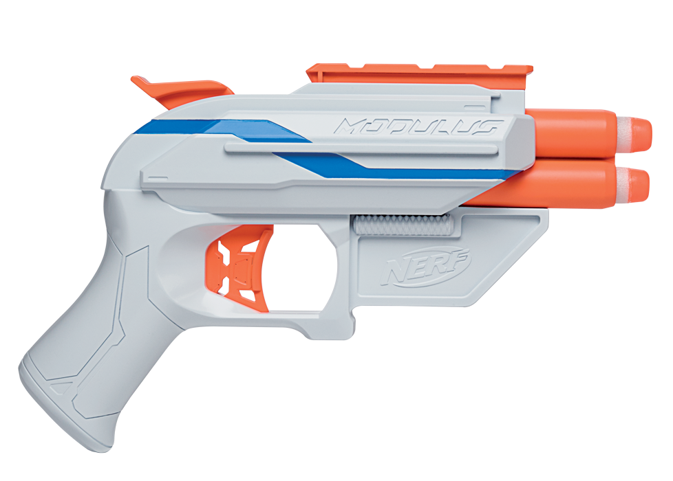 Cougar nerf gun- has 2 soft bullets each... There are 2 in