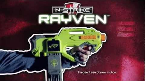 Nerf N-Strike Rayven Light it Up TV Spot