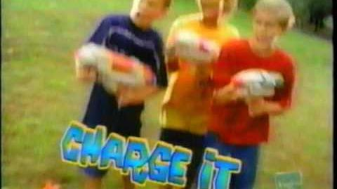 Super Soaker - Super Charger Commercial 400 500 600 - Charge it Pump It (1999)