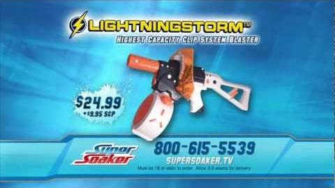 Nerf Super Soaker Lightningstorm Special TV Offer