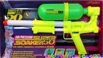 Super Soaker 50 Larami 1991 Commercial Retro Toys and Cartoons