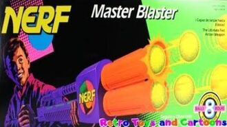 Nerf Master Blaster 1992 Commercial Retro Toys and Cartoons