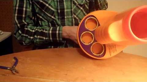 Review The Vintage Koosh Nerf? Firestorm (Vortex Ring Blaster)