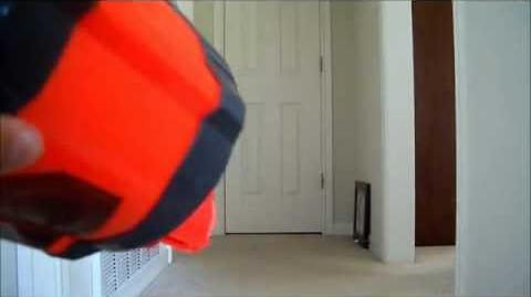 Nerf Pyragon Test Fire