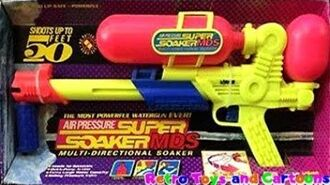 Super Soaker MDS Larami 1993 Commercial Retro Toys and Cartoons