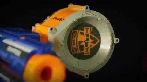 Nerf N-Strike Elite Rampage Blaster Video (75 FT)