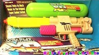 Super Soaker XP 75 Larami 1994 Commercial Retro Toys and Cartoons