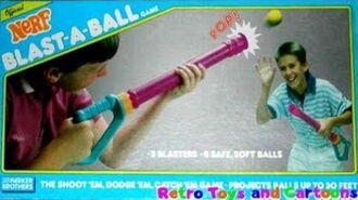 Nerf Blast-A-Ball 1989 Commercial Retro Toys and Cartoons