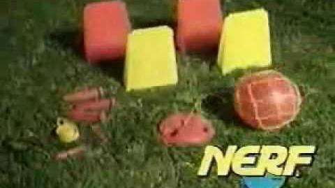 Nerf Kickback Soccer Ad (1995)
