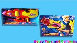 Super Soaker CPS 2700 CPS 3200 Larami 2000 Commercial Retro Toys and Cartoons