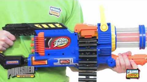 Prime Time Toys AirZone Punisher Gatling Blaster