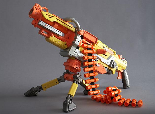 Nerf vulcan blaster