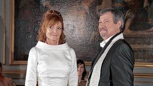 Bruiloft van Luc Bomans en Julia Van Capelle