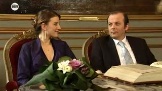 Bruiloft van Waldek Kozinski en Jelena Leshi