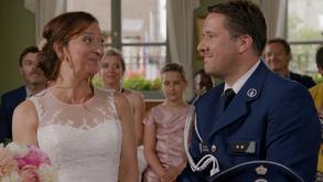 Bruiloft van Dieter Van Aert en Nancy De Grote
