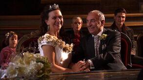 Bruiloft van Eddy Van Noteghem en Nancy De Grote