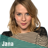 Thuis personages jana 300
