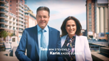 Liefdesrelatie van Tom en Karin