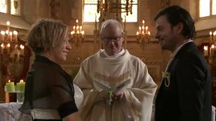 Bruiloft van Peter Vlerick en Peggy Verbeeck