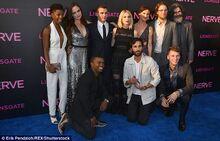 Cast at Premiere