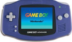 Purple Game Boy Advance