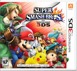 Super Smash Bros. for Nintendo 3DS Boxart