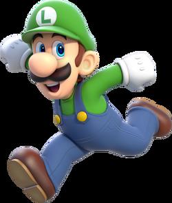 Luigi Art Work SM3DW