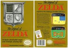 Box Art Zelda