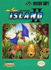 Adventure Island 2 box art
