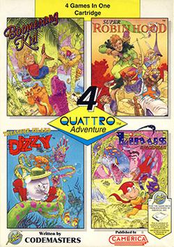 Quattro Adventure Coverart