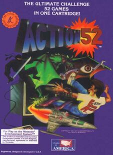 Action 52 Box art