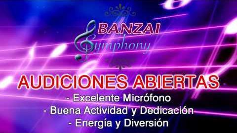 """Audiciones abiertas para """"Banzai Symphony"""""""