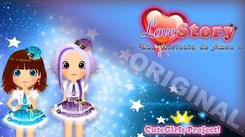 【Cute★Girls P!】LoveStory ~Una historia de Amor~ (MV) 【Original】