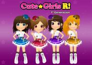 CuteGirls Revolution 1a Generación