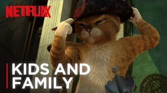 The Adventures of Puss in Boots Trailer HD Netflix Futures