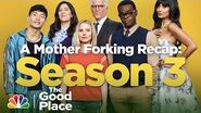Mother Forking Recap Season 3 - The Good Place