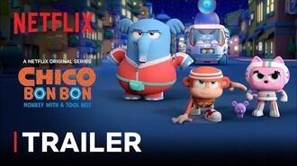 Chico Bon Bon Monkey with a Tool Belt Season 3 Trailer 🙊 Netflix Jr