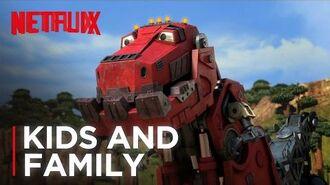 DreamWorks Dinotrux Official Trailer HD Netflix Futures