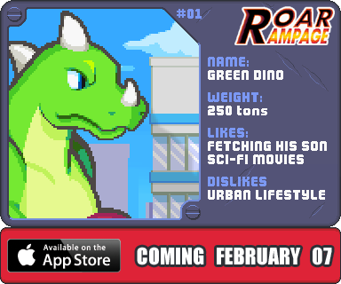 Dinosaurs (Roar Rampage iOS) | Neutronized Wiki | FANDOM