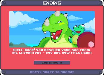 Ending of roaring rampge