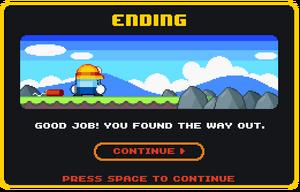 Dyna Boy ending