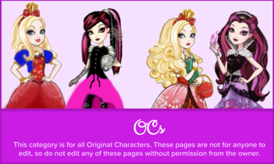 Never After High OCs Page Image