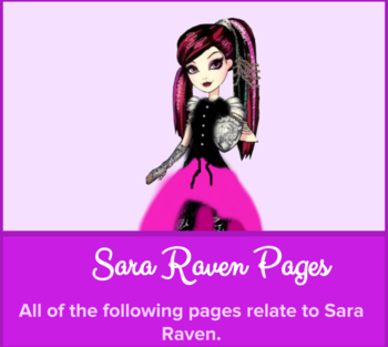 Never After High Sara Raven Category Image