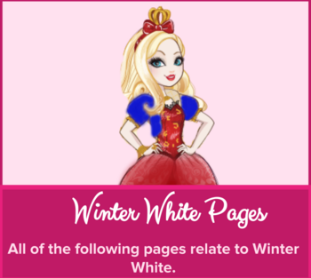 Never After High Winter White Category Image