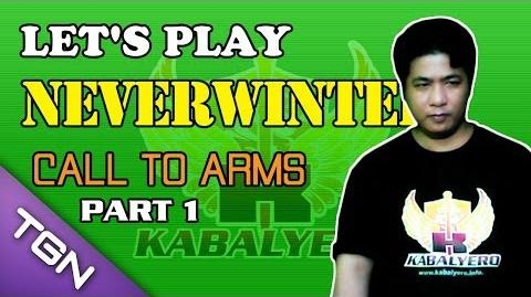 Let's Play Neverwinter - Call To Arms (Part 1)