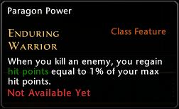 Enduring Warrior