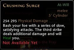 Crushing Surge